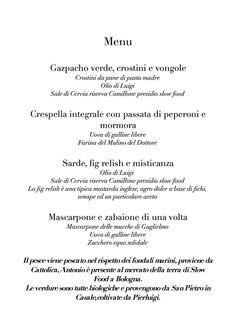 Catering Menu 17/07/12