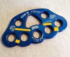 PETZL Ergonomic Handled Ascender Blue Rope 813 Ascension