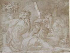 Giorgio Vasari, Three river gods on ArtStack Giorgio Vasari, Google Art Project, Three Rivers, Italian Painters, Caravaggio, Gravure, Art Google, Online Art, Art History