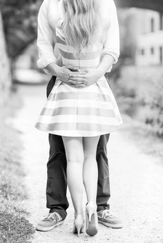 Classy Georgetown Engagement Pictures by Katelyn James Photography