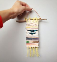 mini weaving by CathyMcMurray