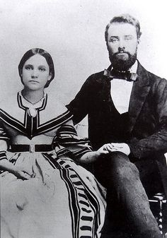 Elbert & Louisa Jemison, ..He was a Captain in the Confederate Army of Texas, serving in the 1st Texas Infantry