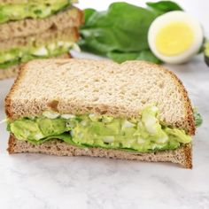 This is the BEST egg salad recipe. You will LOVE the avocado addition! You can use your leftover hard boiled eggs to make an easy, delicious, and healthy egg salad. You can eat this avocado egg salad Healthy Egg Salad, Healthy Breakfast Recipes, Avocado Breakfast, Healthy Eating, Healthy Drinks, Diet Breakfast, Salad For Breakfast, Boiled Egg Breakfast Ideas, Vegetarian Recipes For Kids
