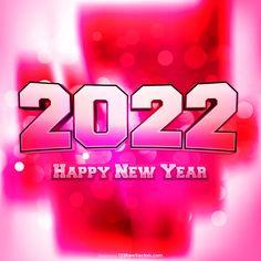 Free 2022 Happy New Year Vector