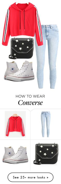 """""""Senza titolo #42"""" by styledbydaxy on Polyvore featuring Levi's, Converse and STELLA McCARTNEY"""