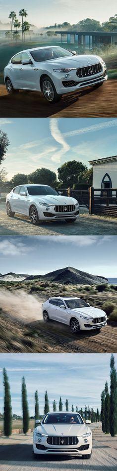 2017 Maserati Levante / white / Italy / SUV
