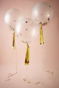 Confetti Shine Balloons