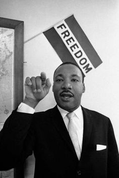 Martin Luther King speaks in Atlanta in 1960. (AP Photo) / Beaumont