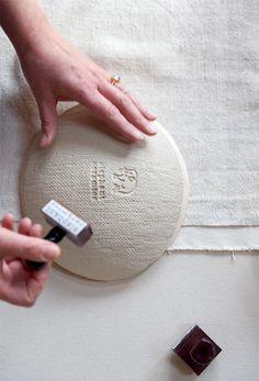 Handmade porcelain and stoneware ceramics by Michele Michael. Ceramic Studio, Ceramic Clay, Ceramic Plates, Ceramic Techniques, Pottery Techniques, Pottery Plates, Ceramic Pottery, Pottery Designs, Ceramic Design