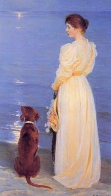 Peder Severin Kroyer Summer Evening at Skagen, oil on canvas. Peder Severin Kroyer was a Norwegian-Danish painter. He is one of the best known and beloved, and undeniably the most colorful of the Skagen Painters, a community of Danish and. Skagen, Irish Setter, Art Database, Summer Evening, Pics Art, Canvas Prints, Art Prints, Dog Art, Oeuvre D'art