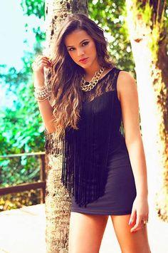 Brazilian actress and Neymar's girlfriend Bruna Marquezine...