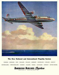 "DC-7C ""Seven Seas"""