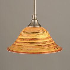 toltec lighting 23 dg 434 stem mini pendant browse mini pendant orange