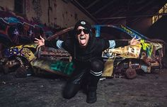 The rapper, Fronzilla (lead singer of the metalcore band, Attila), has announced a solo U. tour, for this fall. Attila Band, Debut Album, Touring, Rapper, Monster Trucks, Photoshop, Singer, Concert, Fall