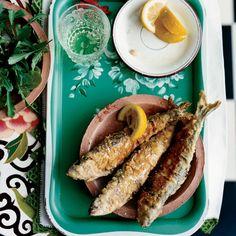 Stuffed Fried Sardines // More Sardine Recipes: http://www.foodandwine.com/slideshows/sardines/1 #foodandwine