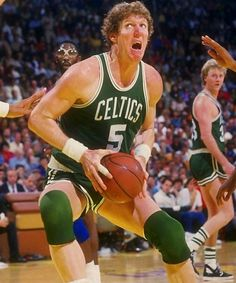 Bill Walton: I love this guy! He wrote one of my recommendations for my internship with the Boston Celtics.
