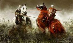 'Duel' by Mariusz Kozik ----- Better quality here: http://www.mariuszkozik.com/wp-content/uploads/2012/02/016_Duel.jpg