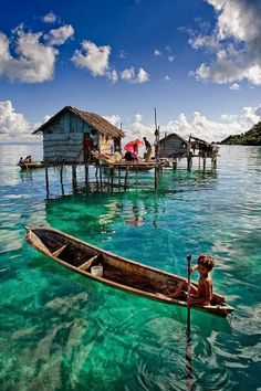 Lake Danau Batur and Mount Batur, Bali, Indonesia.