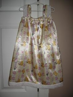 Easy girl's nightgown tutorial