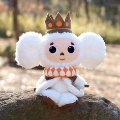 Cheburashka S Chess Queen white bulky also: Amazon.co.uk: Toys & Games