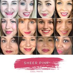 SHEER PINK - Love this shade? You can order it here: www.lastinglip.ca If it's currently out of stock, it wont be listed on the website so feel free to message me via my Facebook Page at www.facebook.com/lastinglip and I'll get you one. #lipsense #sheerpink #lastinglip #senegence