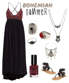 """""""boho summer"""" by im-karla-with-a-k on Polyvore featuring Billabong, Bobbi Brown Cosmetics, Wet Seal, MANGO, Chelsea & Zoe, Forever 21 and summersandals"""