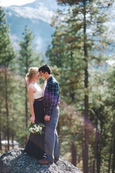 A Rustic Mountainside Wedding at a Private Residence in Leavenworth, Washington | Tonie Christine Photography | Theknot.com