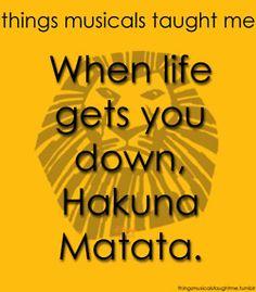 Lion King taught me...