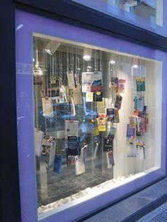 Nuevos escaparates: Los escaparates de la librería Excellence Barcelona