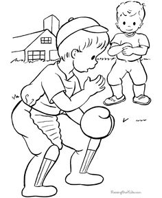 sandlot coloring pages coloring pages. Black Bedroom Furniture Sets. Home Design Ideas
