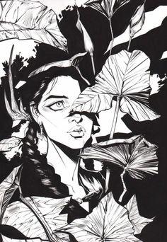 Madame Xanadu by Joelle Jones Comic Book Artists, Comic Books Art, Comic Art, Illustrations, Illustration Art, Hq Dc, Joelle, Character Design Animation, Character Sketches