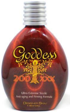 Save $32.20 on Designer Skin Goddess Tanning Lotion Goddess Extreme 200xxx Sizzle Lotion 13.5 oz; only $24.30 + Free Shipping