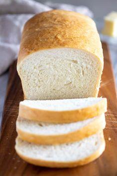 Homemade Bread Recipe - Tastes Better from Scratch Homemade White Bread, White Bread Recipe No Milk, Bread Recipe No Eggs, Brown Bread Recipe, Best Homemade Bread Recipe, Sandwiches, Sandwich Bread Recipes, Easy Bread, Bread Rolls
