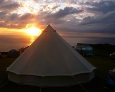 SANDSTONE CANVAS BELL TENT