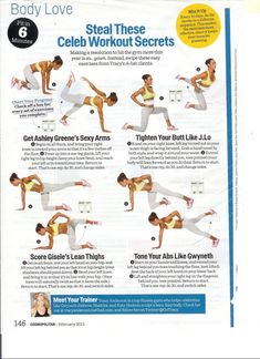 Tracy Anderson - Celeb Workout Secrets