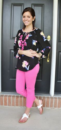 Classy In The Classroom: Pink and Floral!