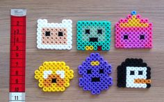 Adventure Time hama bead small | This is what I do
