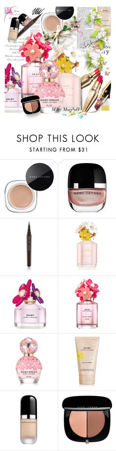 """Our Moment Of Glory................................xx"" by mariloo ❤ liked on Polyvore featuring beauty, Marc Jacobs, Noir Cosmetics, floral, Daisy, Flowers, marcjacobs and mariloo"
