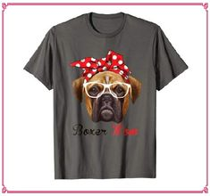 Funny Boxer Mom Shirt for Women Men Boxer Dogs Lovers T-Shirt Boxer Mom, Funny Boxer, Dog Lover Gifts, Dog Lovers, Dog Mom Shirt, Cute Quotes, Branded T Shirts, Funny Cute, Dogs
