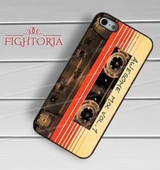 Awesome mix vol 1 guardians of the galaxy -stle for iPhone 6S case, iPhone 5s case, iPhone 6 case, iPhone 4S, Samsung S6 Edge