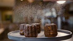 Dark and mysterious on the outside, soft and tender on the inside. The caramelised crust of the French canelé hides a custardy centre, typically flavoured with rum and vanilla. You haven't lived until you've tasted one! Get them from our Farm Shop! #FhkBastilleFest French Wine, French Food, Restaurant Delivery, Paris Brest, French Lifestyle, Wine Sale, Farm Shop, Wine Making, Confectionery