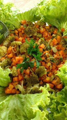 Salada de Cenoura com Brócolis
