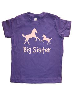 Our Big Sister Horses design is printed onto this super soft - designed and printed by us.  It is comfortable, durable, and soft, and is