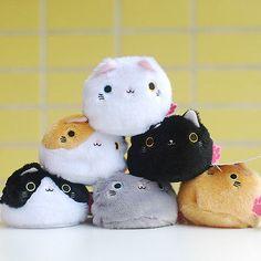 "3"" Neko Atsume Kitty Cat Plush Dango Stuffed Doll  for Japaness Game 6 Options"