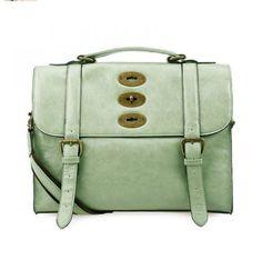 Sea foam green little purse.