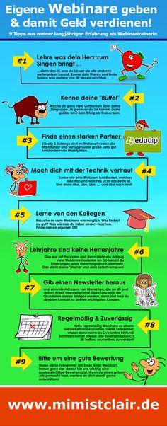So hast du Erfolg mit Webinaren. 9 Profi-Tips aus meiner langjährigen Erfahrung als Webinartrainerin bei Edudip & Sofengo. https://www.sofengo.de/w/132874