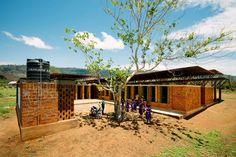 A community school for girls opens in Kenema, Sierra Leone.
