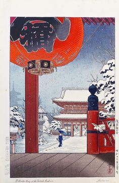 Koitsu - Estampe-japonaise