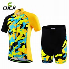 Children Style Summer Racing Cycling Jersey Padded Shorts Gril Boy Mountain  Bike Clothing Road Bicycle Jersey 9806d84ca