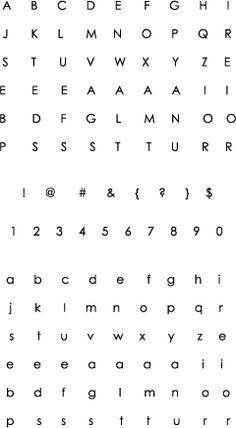 Simple Alphabet Stamp Set